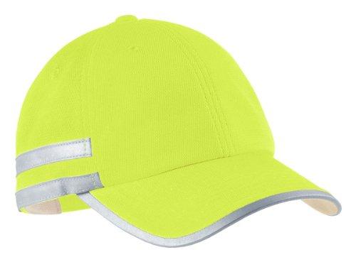 Cornerstone CS801 ANSI Safety Cap - Safety Yellow - OSFA