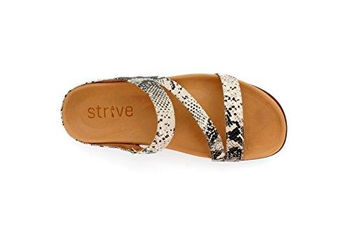 Strive Mujer de Otra Serpiente de De Vestir Sandalias Footwear Para Estampado Piel rwfZxar8n