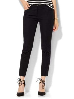New York /& Co Solid Womens Tall Audrey Ankle Pant