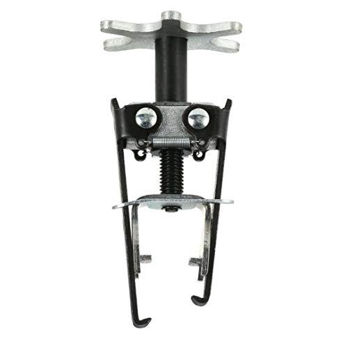 Car Engine Overhead Valve Spring Compressor Valve Removal Installer Tool(Color:Black & silver):