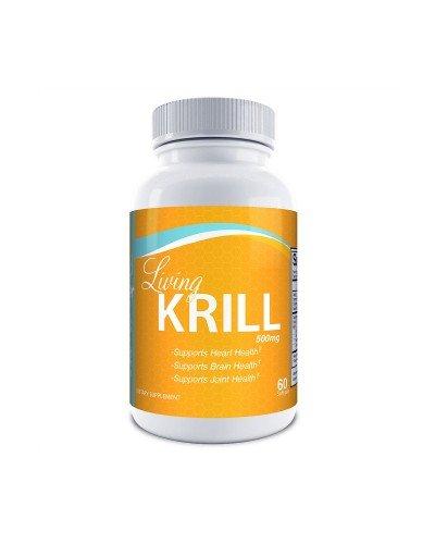 Dr.Colbert's Living Krill Oil 500mg Per Softgel Plus DHA & EPA (60 Servings)