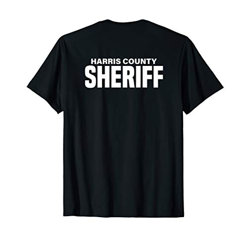 Harris County Texas Sheriff Deputies Police Uniform T-Shirt ()