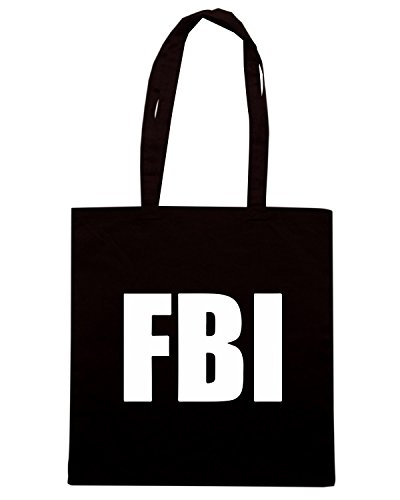 T-Shirtshock - Borsa Shopping TM0546 fbi Nero