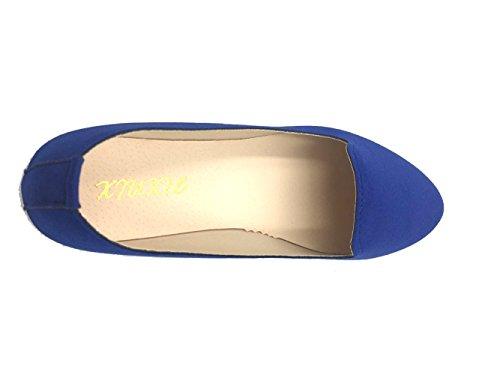 Enceinte De Couleur Plates Mocassins Taille Enfiler Travail Yaoyue Décontractés Bateau Chaussures Femme À Confort Simples 35 Pour Bonbon xxOP1wSq