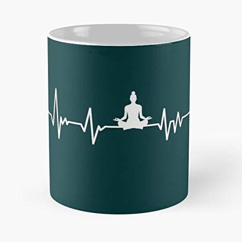 Yoga Heartbeat - Coffee Mug Tea Cup Gift 11oz Mugs The Best ...