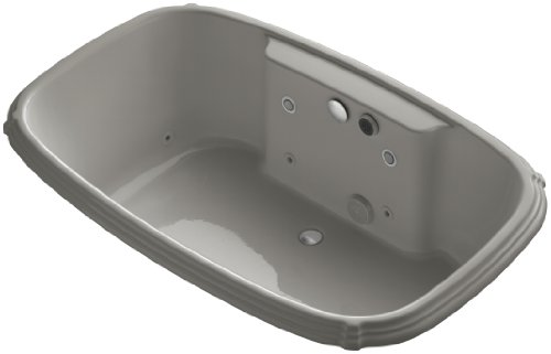UPC 087206945335, KOHLER K-1457-CT-K4 Portrait 67-Inch X 42-Inch Drop-In Effervescence Bath, Cashmere