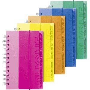 Brunnen 5 x Adressbuch 10x17cm farbig Sortiert B019DN8XTY | Ausreichende Versorgung