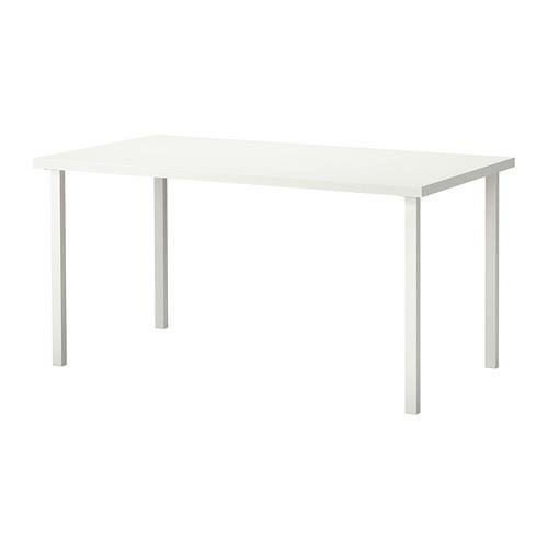 IKEA New Linnmon Desk With Upgraded Square Legs 59 Inch