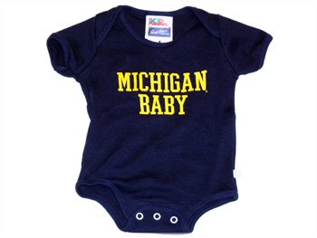 Amazoncom University Of Michigan Wolverines Michigan Baby Onesie