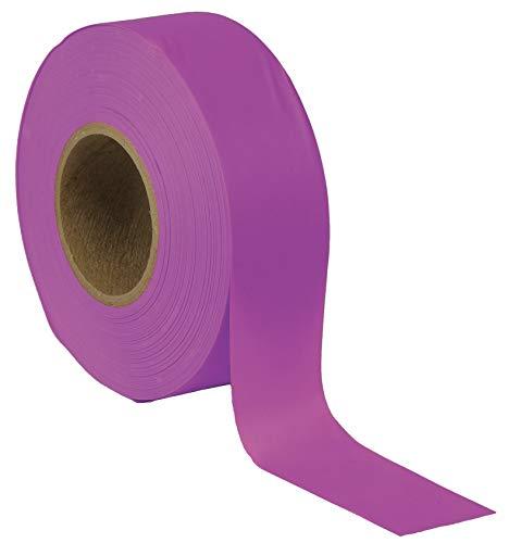 Presco Products Taffeta Flagging Tape, Purple, 300 ft - TFPP-188, Pack of 10