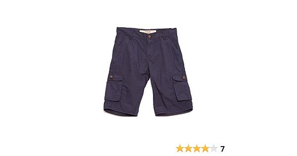 GUESS Boys Big Cargo Pocket Poplin Short