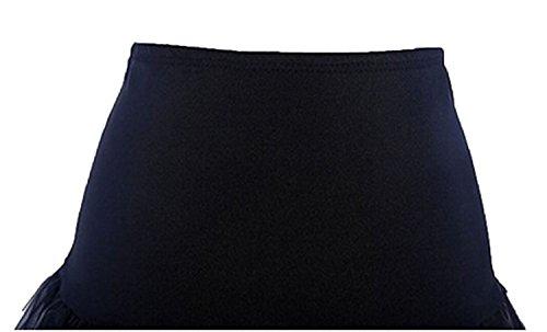 Fanhao - Enaguas cortas - para mujer negro