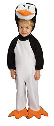 Penguins Of Madagascar Romper Skipper Baby Costume 6-12 Months -