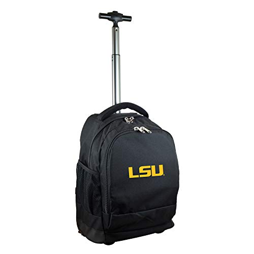NCAA LSU Tigers Expedition Wheeled Backpack, 19-inches, ()