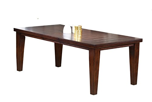 ACME 4620 Birch Veneer Dining Table, Country Cherry Finish -