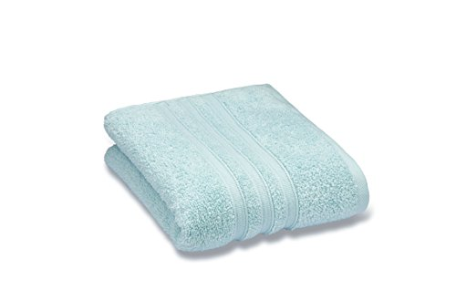 Catherine Lansfield 100% Cotton Soft Absorbent Bath Bathroom Towel - Pack of 2 Facecloths Duck Egg Blue