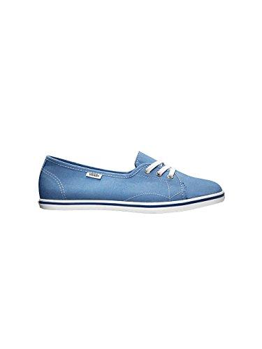 Vans Unisex Leah Passar Komfort Loafers Bluetruewhite