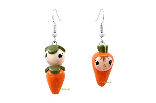 Lady-Charms - Handmade in France -Miss Carrot (France Modern Costume)