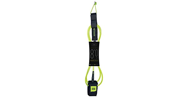 Tabla de Surf Leash 8 FT 8 mm Charger Hurricane Surf Premium Leash Tech lima: Amazon.es: Deportes y aire libre