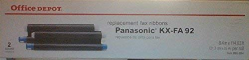 OFFICE DEPOT REPLACEMENT FAX RIBBON REPLACES KXC-FA 92