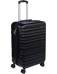 AmazonBasics Hardside Spinner Travel Luggage Suitcase - 24 Inch, Black