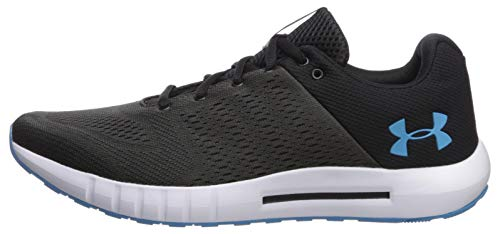 Under Armour Men's Micro G Pursuit Running Shoe, Academy Blue (402)/Black, 9.5 by Under Armour (Image #5)