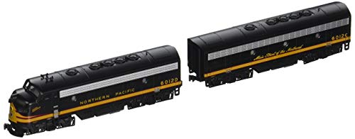 - Kato USA Model Train Products N EMD F7A + F7B Northern Pacific #6012D, #6012C Freight 2-Locomotive Set