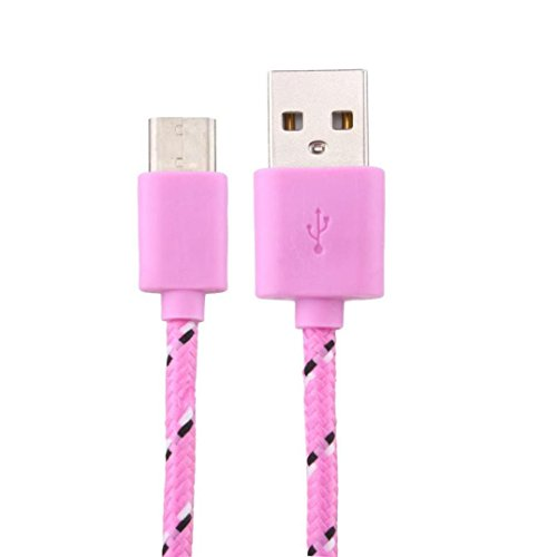 3.0A Hi-speed USB 2.0A Male to Micro USB Sync Charging Cable (Pink) - 4