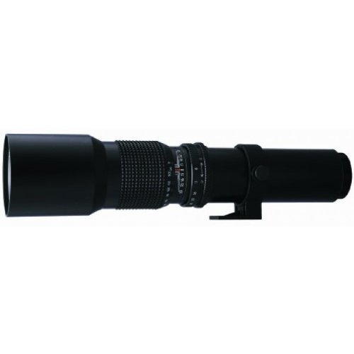 500mm f/8 Telephoto Lens (T Mount) with 2x Teleconverter (=1000mm) for Sony Alpha A900, A850, A700, A100, A200 -  33rd Street, 33RD-1000X-082415