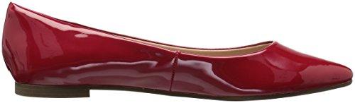 Bcbgeneration Bcbg Generation Womens Millie Loafer Flat Scarlet