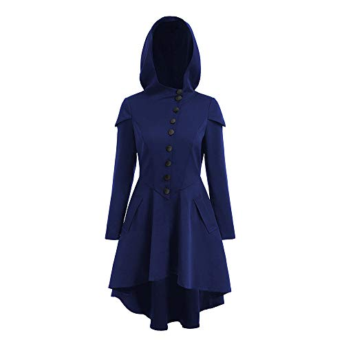 iLOOSKR Fashion Women's Hooded Skirt Pullover Long Sleeve High Bandage Dress Cloak ()