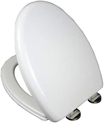 細長い三角形の便座ダブルボタンの上部トイレボウルふた肥厚WCは、クイックリリース国際規格ねじピッチませスラムの静かな-閉じるカバー (Size : (440-480)×350MM)