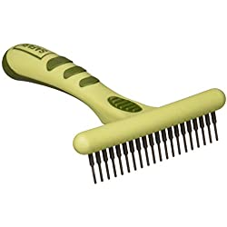Coastal Pet - Safari Long Tooth Undercoat Dog Rake, Designed for Breeds with Medium Undercoats.