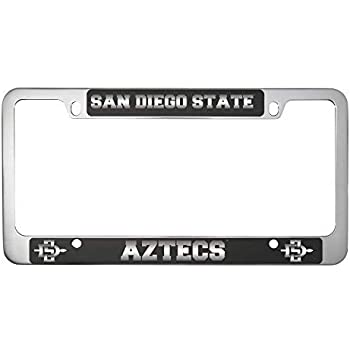 San Antonio Tx Black Metal License Plate Frame Tag Holder