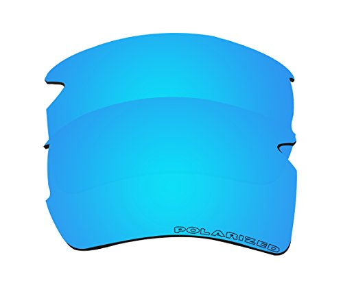 BVANQ Polarized Replacement Lenses for Oakley Flak 2.0 XL (OO9188) Sunglasses - 6 Options Available (Blue - Lenses Oakley 2.0
