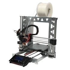 bq KITP3STEEL - Kit de montaje para impresora 3D Prusa I3 P3steel + 1 kg de filamento