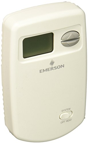 Emerson 1E78-140 Non-Programmable Heat Only Thermostat for Single-Stage (White Rodgers Digital Thermostats)