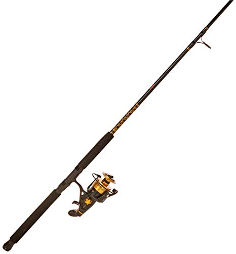 Penn Spinfisher V 8500 Fishing Rod and Spinning Reel Combo, Boat, 7 Feet, Heavy Power