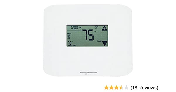 Radio Thermostat CT100 Plus Z-Wave Plus Programmable Thermostat - - Amazon.com