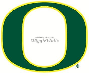 Amazoncom 4 Inch Uo University Of Oregon Ducks Yellow Green O Logo