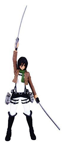 Kaiyodo Capsule One Attack on Titan Real Figure Collection Mikasa Ackerman Figure