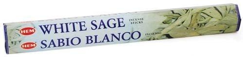 日本初の White Sage by HEM Stick Incense Sage B007KN1EQ4 20gms by Sage Cauldron [並行輸入品] B007KN1EQ4, JEANS FACTORY Online Shop:82570f3c --- arianechie.dominiotemporario.com