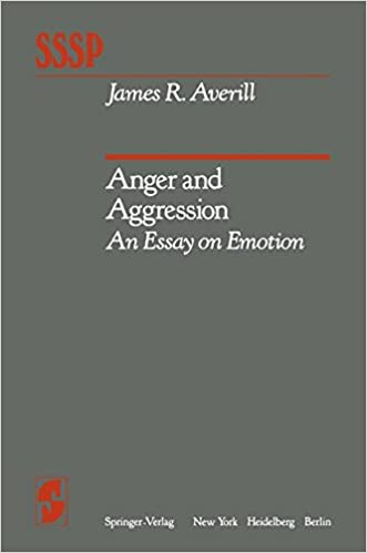 anger and aggression an essay on emotion springer series in  anger and aggression an essay on emotion springer series in social psychology j r averill 9780387907192 com books