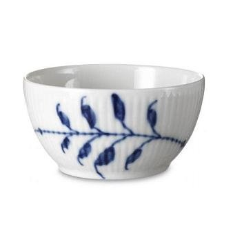 Blue Fluted Mega 3.75 oz. Sugar Bowl ()