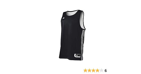 Amazon.com : Adidas Mens Reversible Basketball Practice Jersey ...