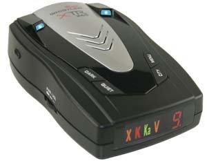 WHISTLER XTR-265 RADAR/LASER DETECTOR WITH POP-WHIXTR265