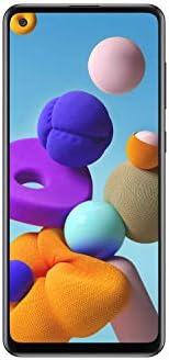 Samsung Galaxy A21s (A217F) 128GB, Dual-SIM, 6.4″ Infinity-U Display, Triple Camera, GSM Unlocked Smartphone – International Model (Black)