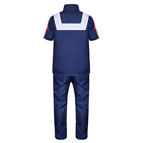 XCJLW My Hero Academia Todoroki Shoto Cosplay Costume Gymnastics Uniform Costume - http://coolthings.us