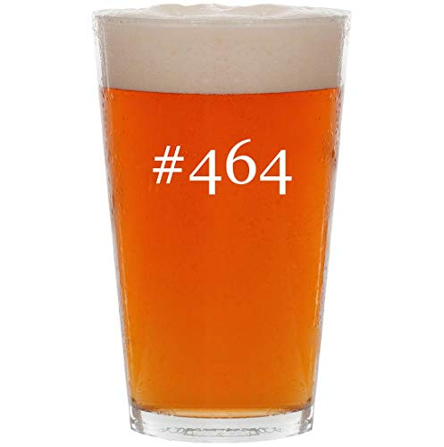 #464-16oz Hashtag All Purpose Pint Beer Glass