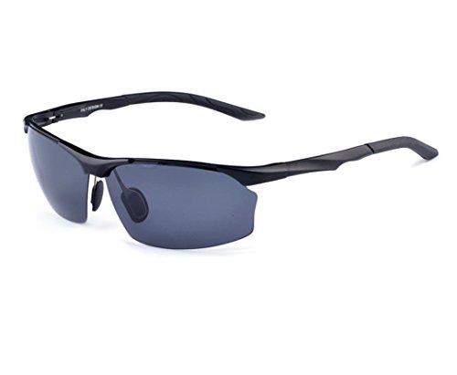 Aviation aluminum-magnesium material polarized sunglasses driving - Sunglasses Essilor